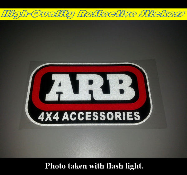 ARB 4X4 ACCESSORIES Off-road Jeep WRANGLER Reflective ...