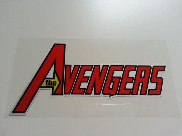 the AVENGERS Superheros JDM Reflective Decal Sticker