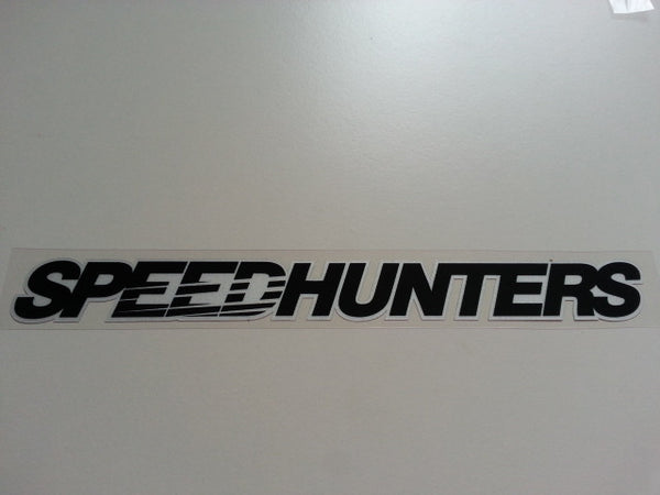 SPEEDHUNTERS JDM HSV FPV Reflective Decal Sticker