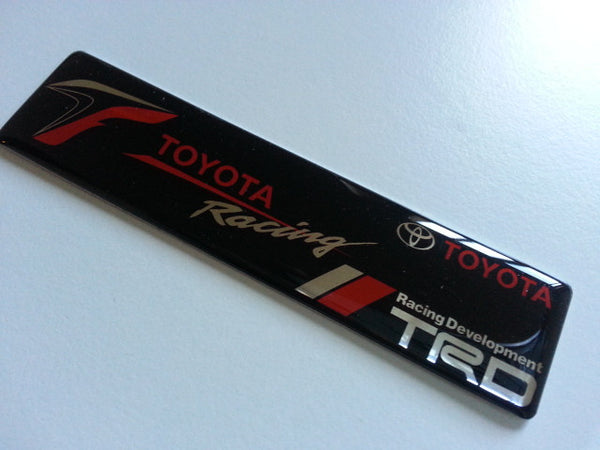 TOYOTA Racing TRD JDM Supra 86 F1 AE86 Car EMBLEM Badge