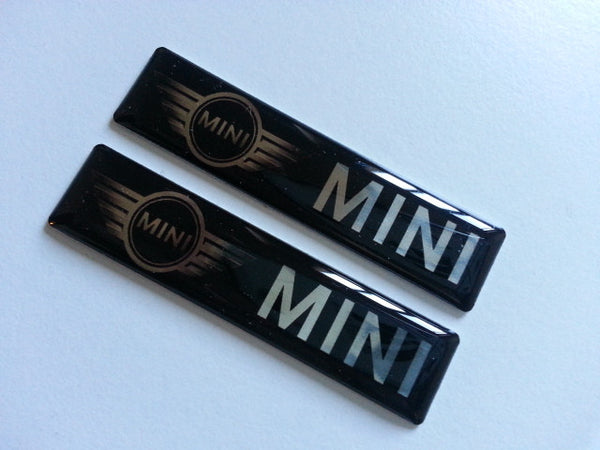 2 Pics MINI BMW COOPER S EMBLEM Badge British