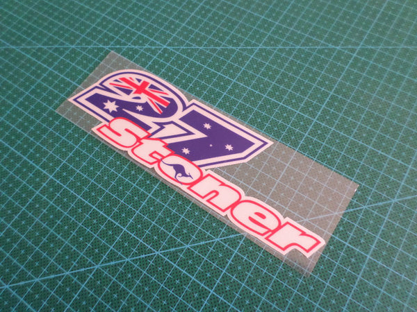 casey stoner 27 Aussie Australia MotoGP world Champion Reflective Decal