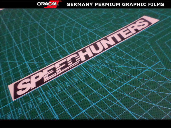 SPEEDHUNTERS JDM STI GTI HSV GTS FPV Turbo Drift Speed Dub Racing Sticker