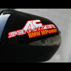 AC SCHNITZER BMW M Power Car Motorcycle Decal Multi-layered Sticker