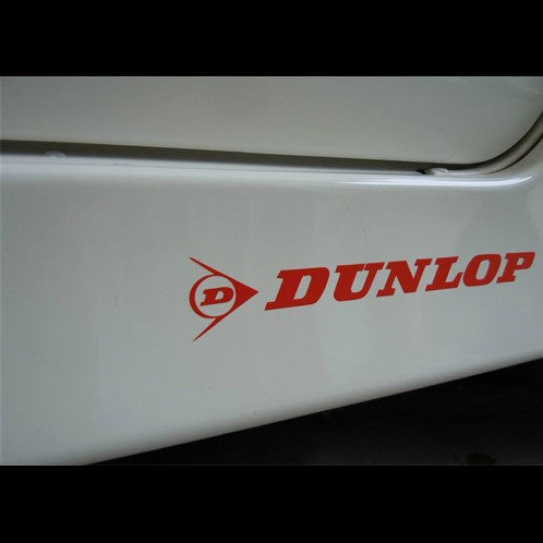 DUNLOP Tyres Tires Car VINYL Motorcycle Decal Sticker
