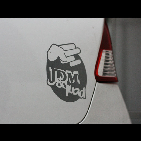 Shocker JDM Squad JDM Car Decal Sticker