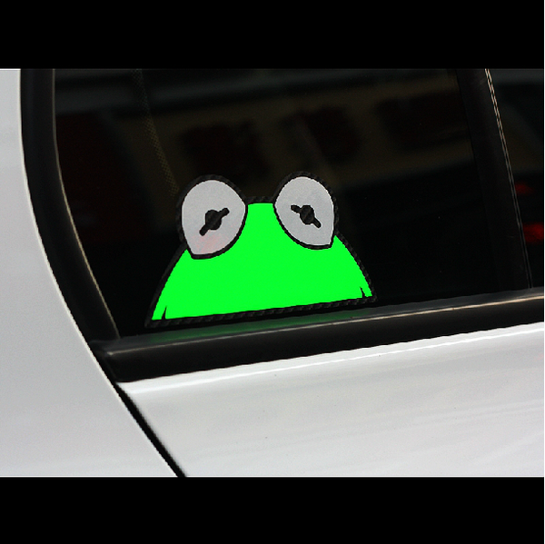 SESAME STREET JDM Decal Sticker- Multi-layered Reflective
