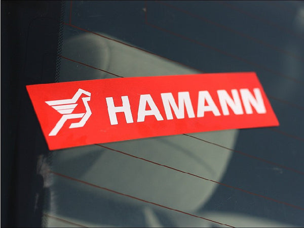 HAMANN BMW Modified Car Decal Multi-layered Quality Sticker