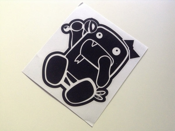[Bonus Gift] Baby Domo-kun JDM Car Decal Quality Sticker #02