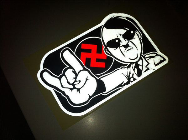 The Revolutionist Adolf Hitler Love Shocker JDM Multi-layered Decal