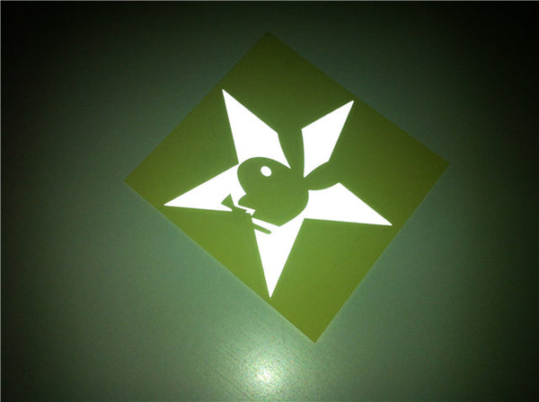Playboy Bunny Star Car Decal sticker
