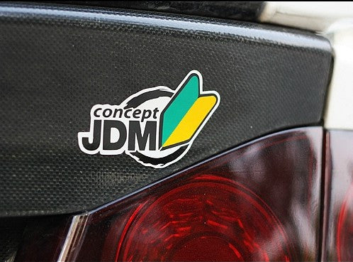 concept JDM Logo Car Decal Reflective Sticker