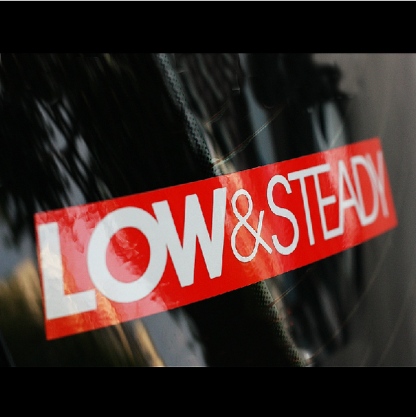 LOW & STEADY JDM Car Decal Multi-layered Sticker