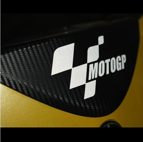 A Pair Of MOTOGP Motorcycle Decal Stickers