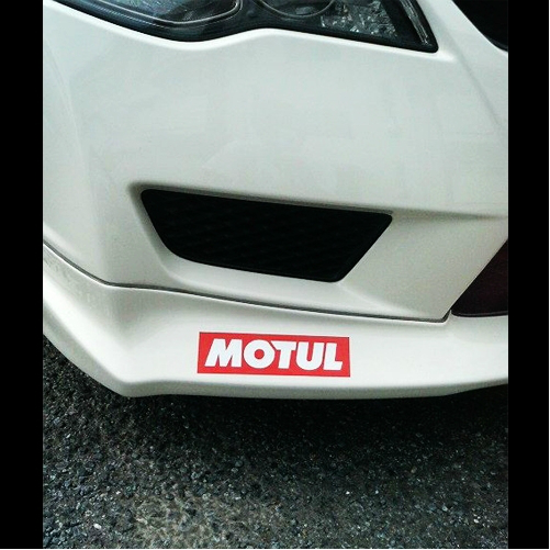 MOTUL Oil Logo Car Motorcycle Decal Multi-layered Sticker