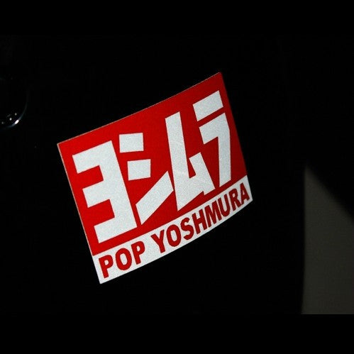POP YOSHMURA Motorcycle Decal Multi-layered Sticker