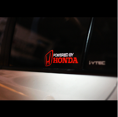 POWERED BY HONDA MUGEN CIVIC TYPE R JAZZ CITY JDM Car Decal Sticker