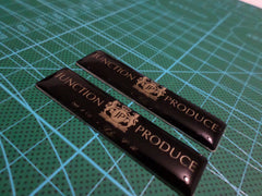 2 Pics Junction Produce Badge