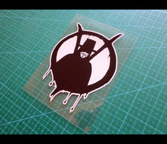 V For Vendetta Bleeding Reflective Sticker