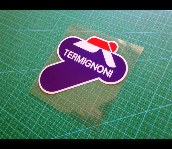 TERMIGNONI Motorcycle Decal Reflective Sticker