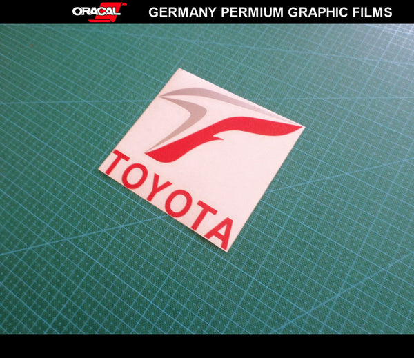 Toyota T F1 Sport Land Cruiser Pardo 86 GT bumper Decal Vinyl Sticker
