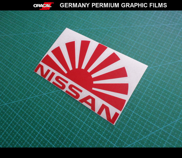 JDM LOGO NISSAN Rasing sun S15 S14 S13 CAR Decal vinyl Sticker