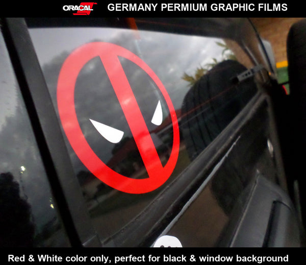 Deadpool funny JDM Car window Decal vinyl Sticker #002