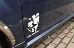 V for Vendetta Car Decal Sticker