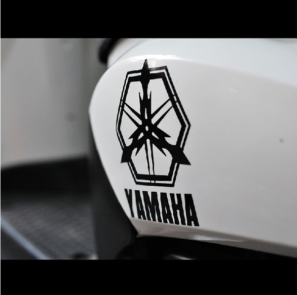 YAMAHA Monster Evil Logo Motorcycle Decal Sticker – New ...