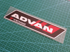 ADVAN YOKOHAMA TYRES JDM Reflective Decal Sticker