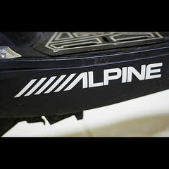 ALPINE Audio JDM Car Decal sticker