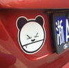Angry Panda Drift Decal JDM Multi-layered Sticker