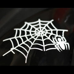 Spider web Car Decal Quality Reflective Sticker