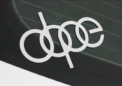 dope JDM EURO Car Decal sticker