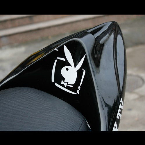 Playboy Bunny TV Motorcycle Decal sticker