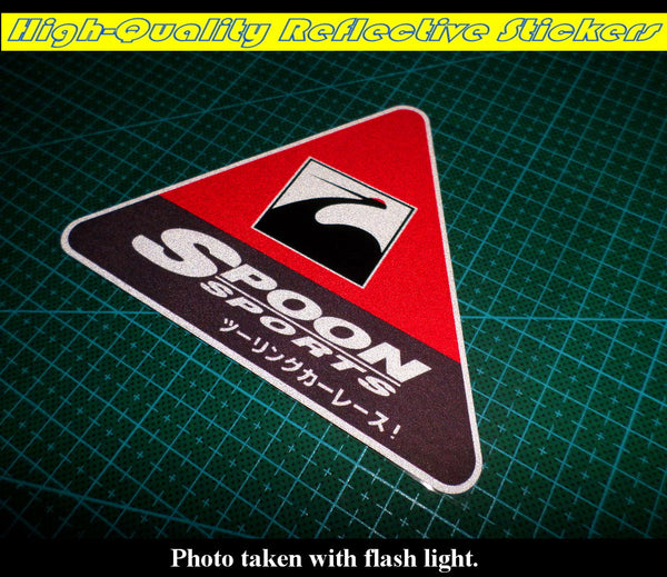 SPOON SPORTS JDM Drift Reflective Decal Sticker