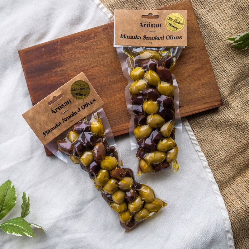 Our Delicious Manuka Smoked Olives, double pack!
