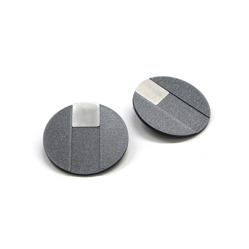 DUO earrings Square big