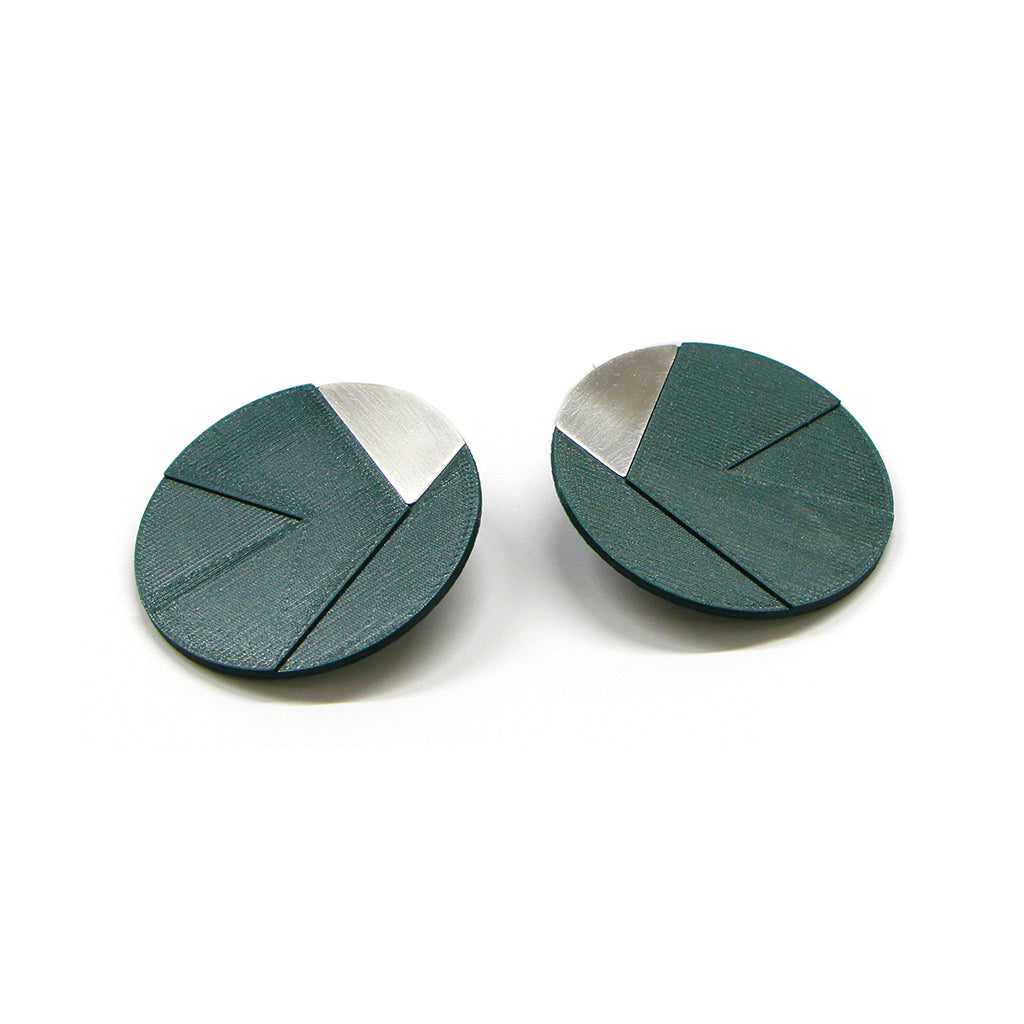 DUO earrings Irregular big