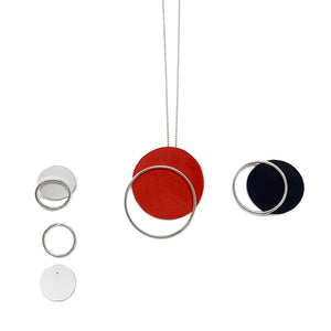 Bauhaus 100 sphere necklace