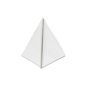 Bauhaus 100 pyramid pin