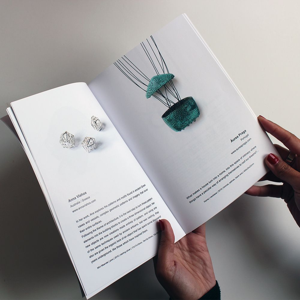 Jewelry and Architecture catalog