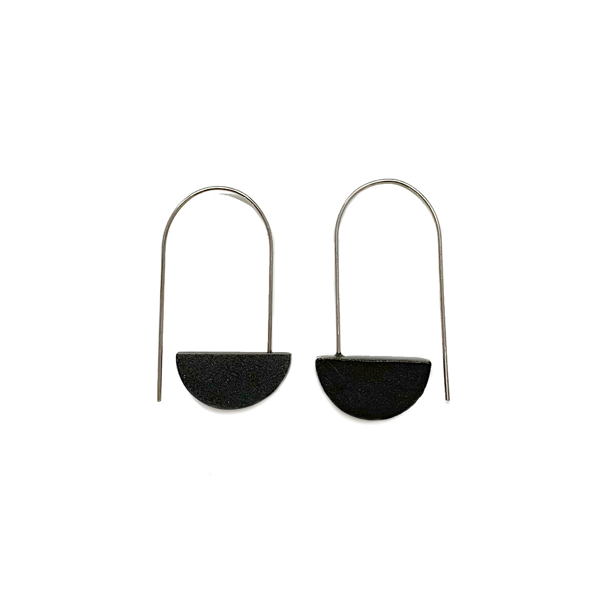 Small Half Moon earrings