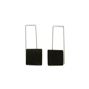 Large Square earrings