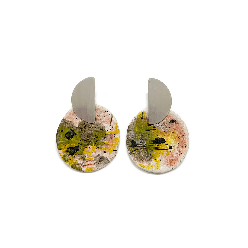 Figurae Collection earrings + drawing 07