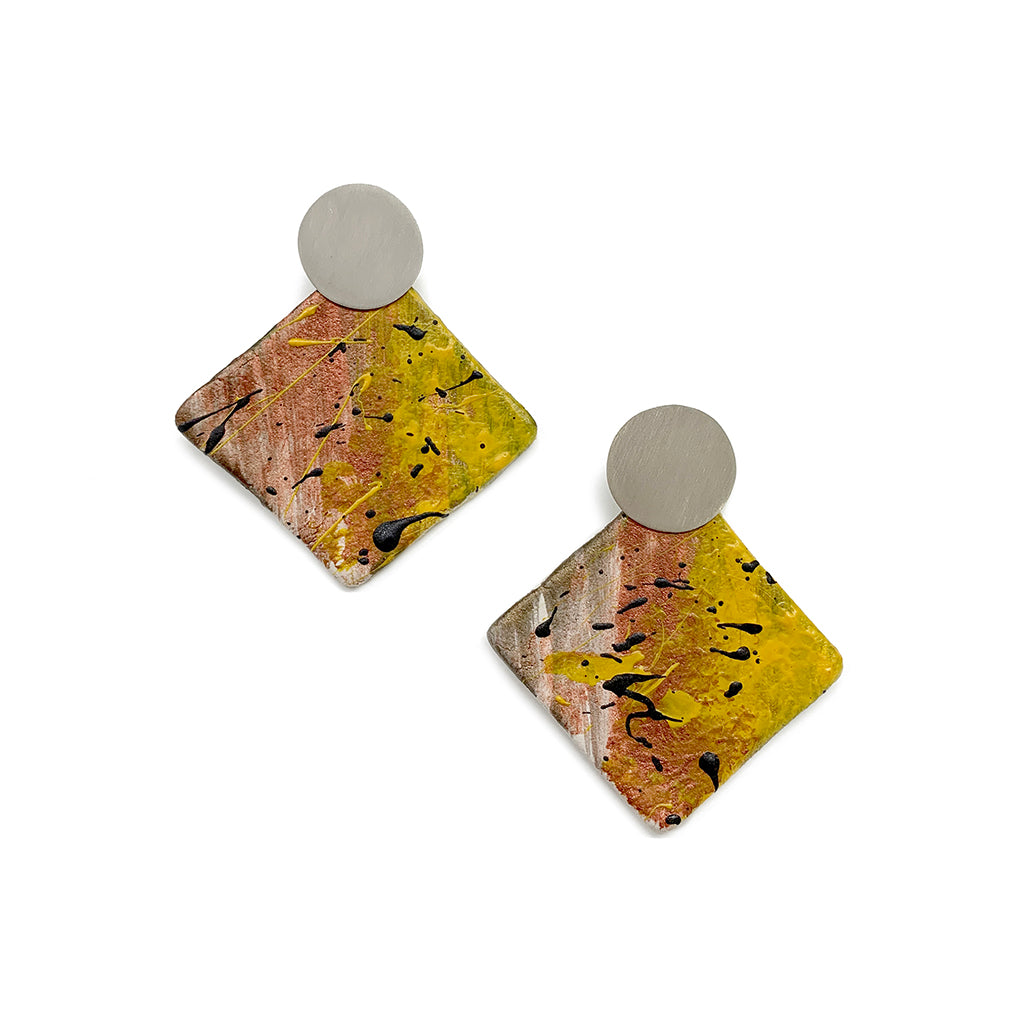 Figurae Collection earrings + drawing 08