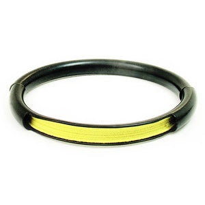 Push & Pull bracelet Thermocoated with elastic, light yellow