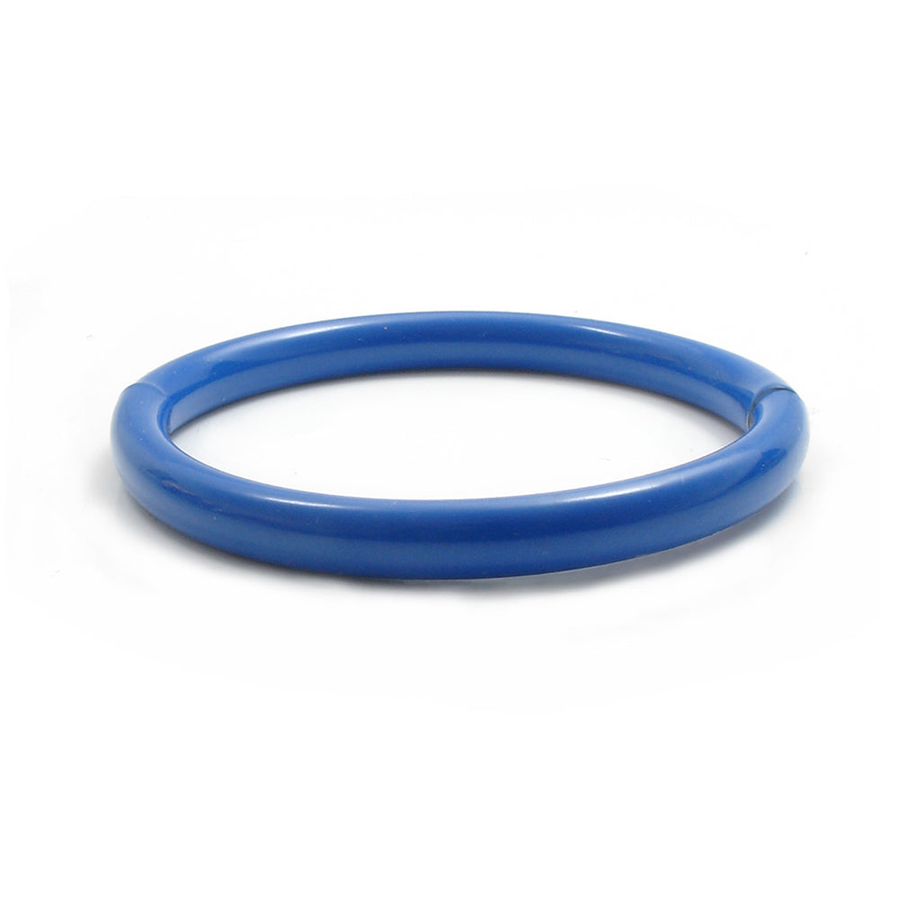Push & Pull bracelet Thermocoated in blue