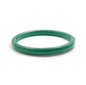 Push & Pull bracelet Thermocoated in green