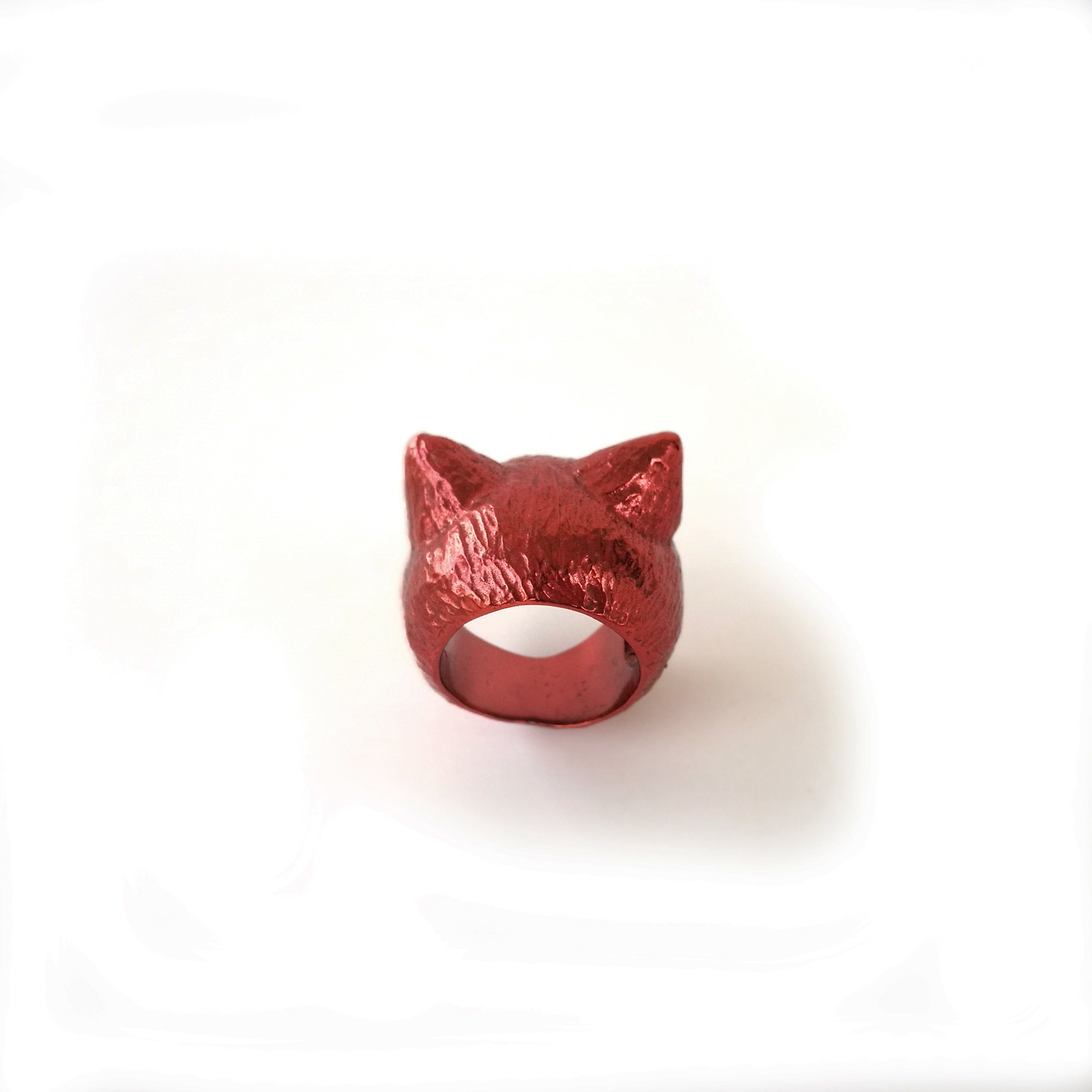 I'm All Ears - Red Cat ring